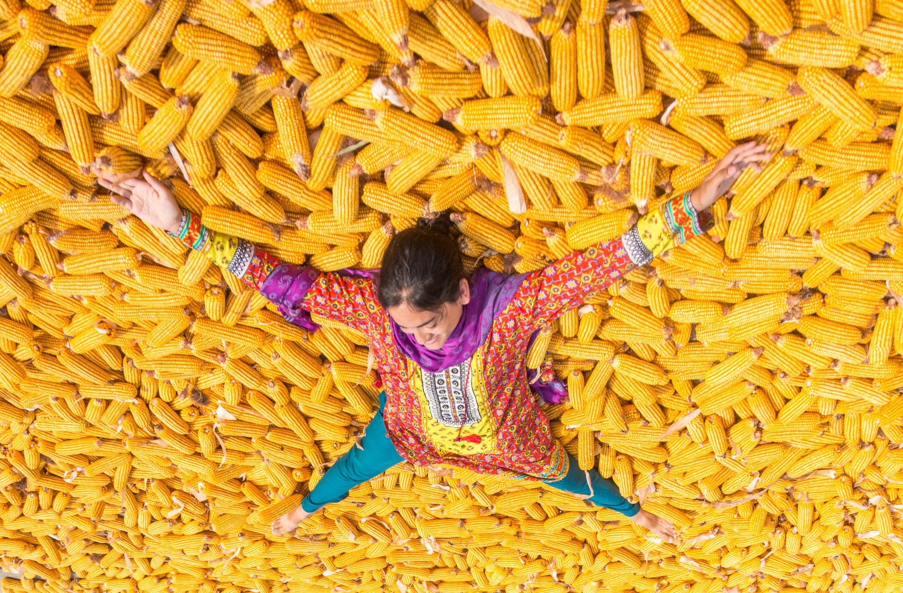 About Lost With Purpose Travel Blog - Bathing in corn in Pakistan