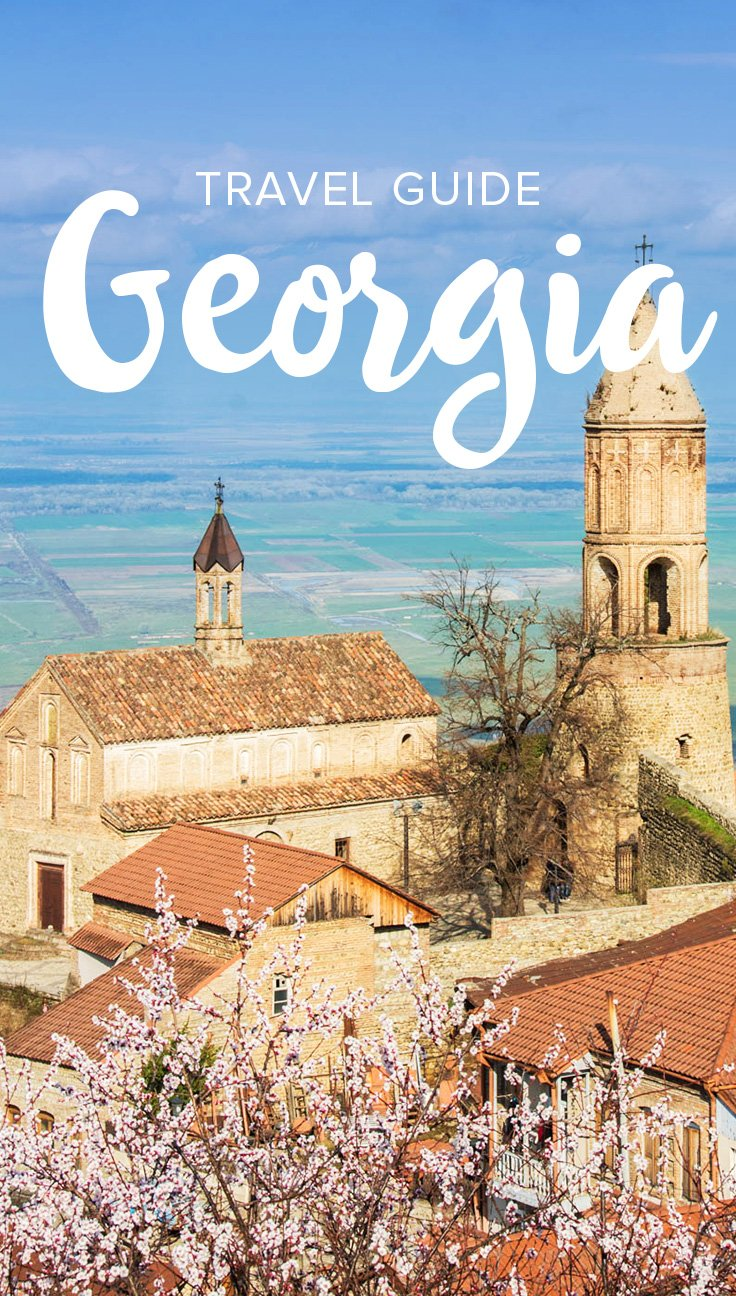Planning a trip to Georgia? (The country, not the state!) This Georgia travel guide has everything you need to know to plan a trip to Georgia including visa information, best time to visit, cultural tips, costs of travel, and more. Click through to learn everything you need to know for travel in Georgia! #caucasus #Georgia #travelguide