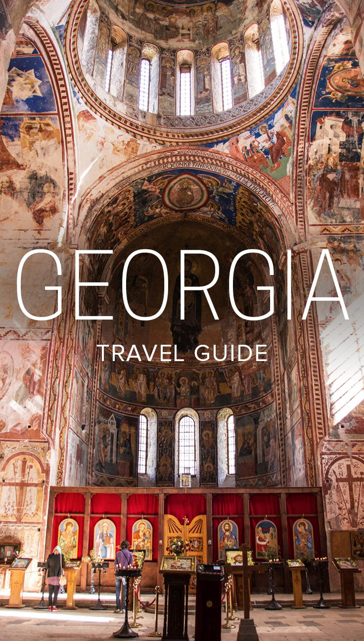 Traveling to Georgia? (The country, not the state!) This Georgia travel guide has everything you need to know about traveling or backpacking in Georgia. Includes information on how much it costs, cultural advice, religion, finding accommodation in Georgia, best time to visit, and more. Click through for the ultimate guide to travel in Georgia.