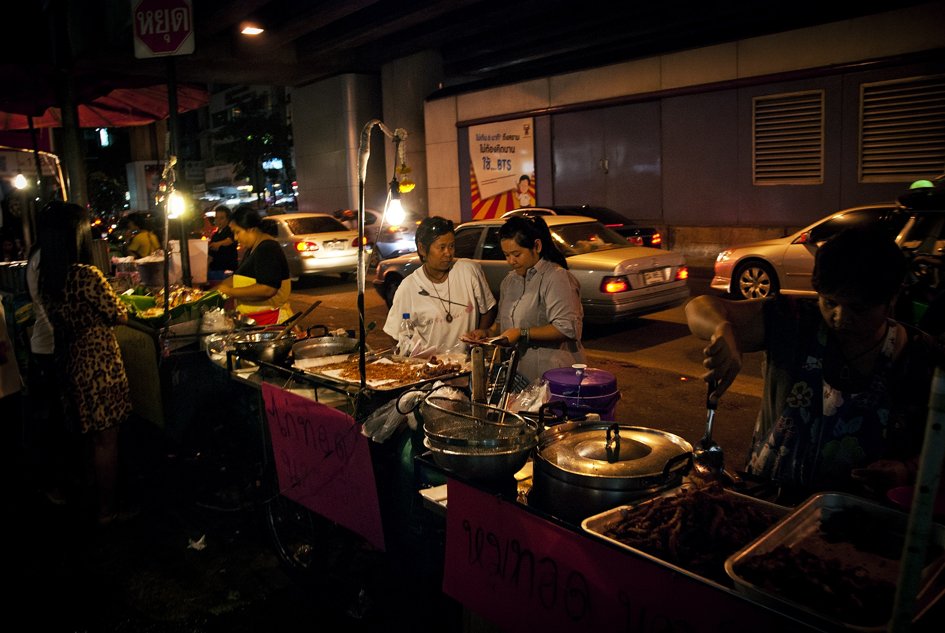 The streets of Bangkok, Thailand at night - Lost With Purpose