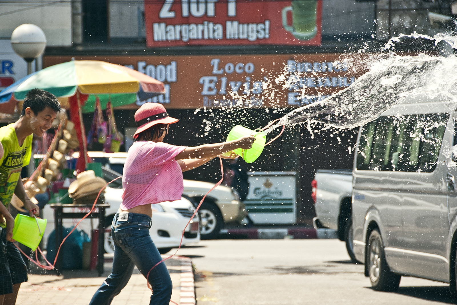 Celebrating Songkran in Chiang Mai, Thailand - Lost With Purpose