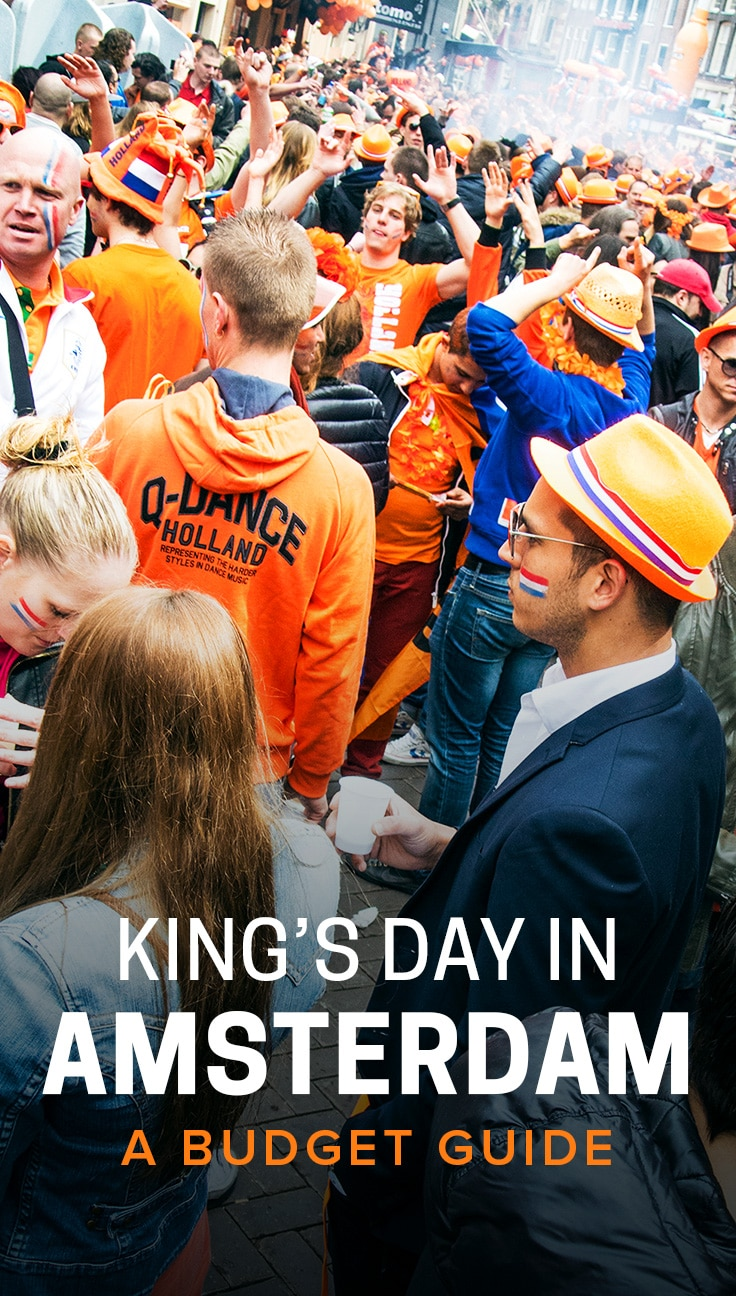 King's Day is the Netherlands' greatest holiday, and Amsterdam is a great place for visitors to celebrate the day. Though the holiday might seem costly, it's equally possible to celebrate King's Day in Amsterdam on a budget. Click through to learn how.