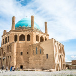 How to get to Soltaniyeh from Zanjan, Iran