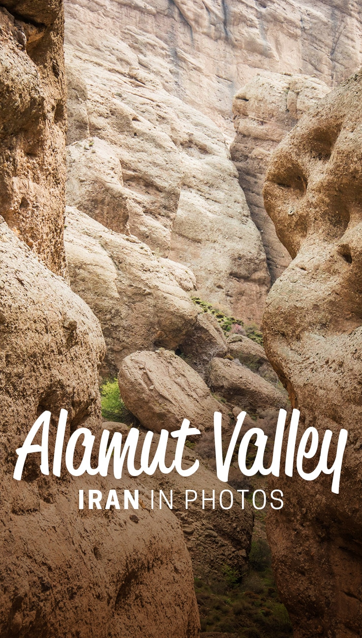 The Castles of the Assassins in the Alamut Valley of Iran are truly spectacular. If you're traveling to Iran, make sure not to miss this off the beaten track destination! Click through for more photos of the Alamut Valley and information on how you can visit the Alamut Valley while in Iran.