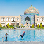 Teaching English in Iran: Imam Square, where our day began