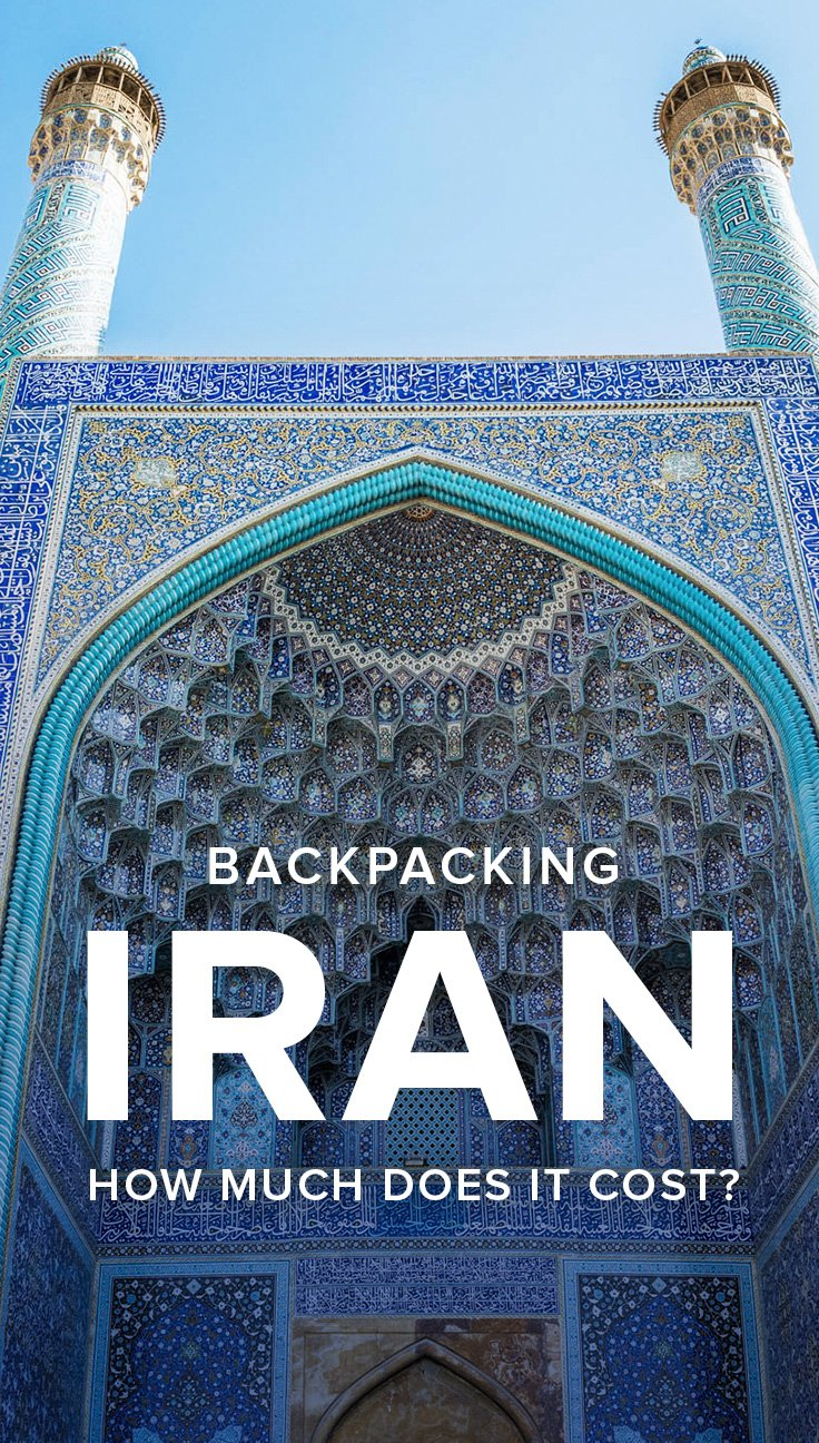 Interested in backpacking in Iran? Want to know how much you need to do so? Here's how much money we spent backpacking in Iran for two months, including a city-by-city breakdown of costs, average costs for common items, and much more. Read on to find out how much money you need to travel in Iran!