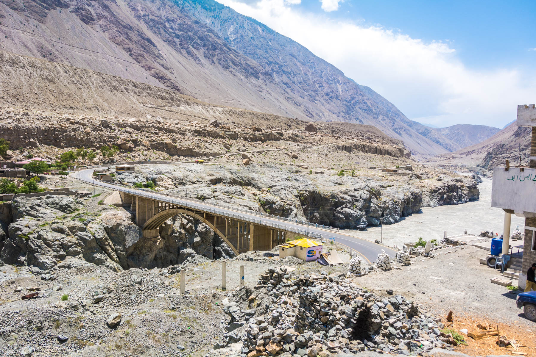 Where do I need security in Pakistan? - Raikot bridge near Chilas - Lost With Purpose