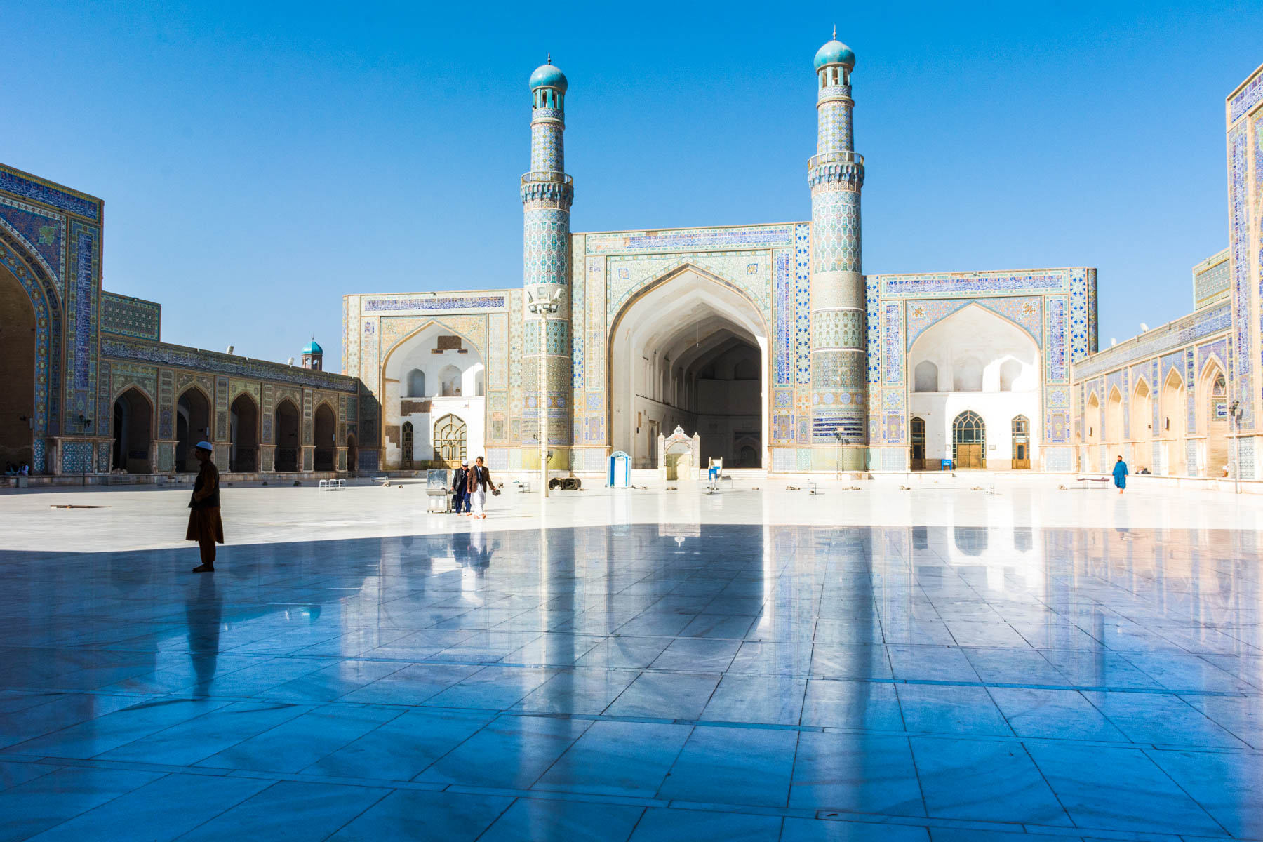 The Jome mosque of Herat, Afghanistan