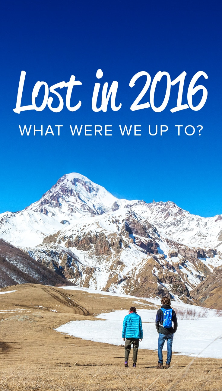 In 2016, we backpacked in some of the most dangerous countries in the world, nearly died by drink, and played with Kalashnikovs... just to name a few things. Here's a look back on everything we got up to as Lost With Purpose in 2016.