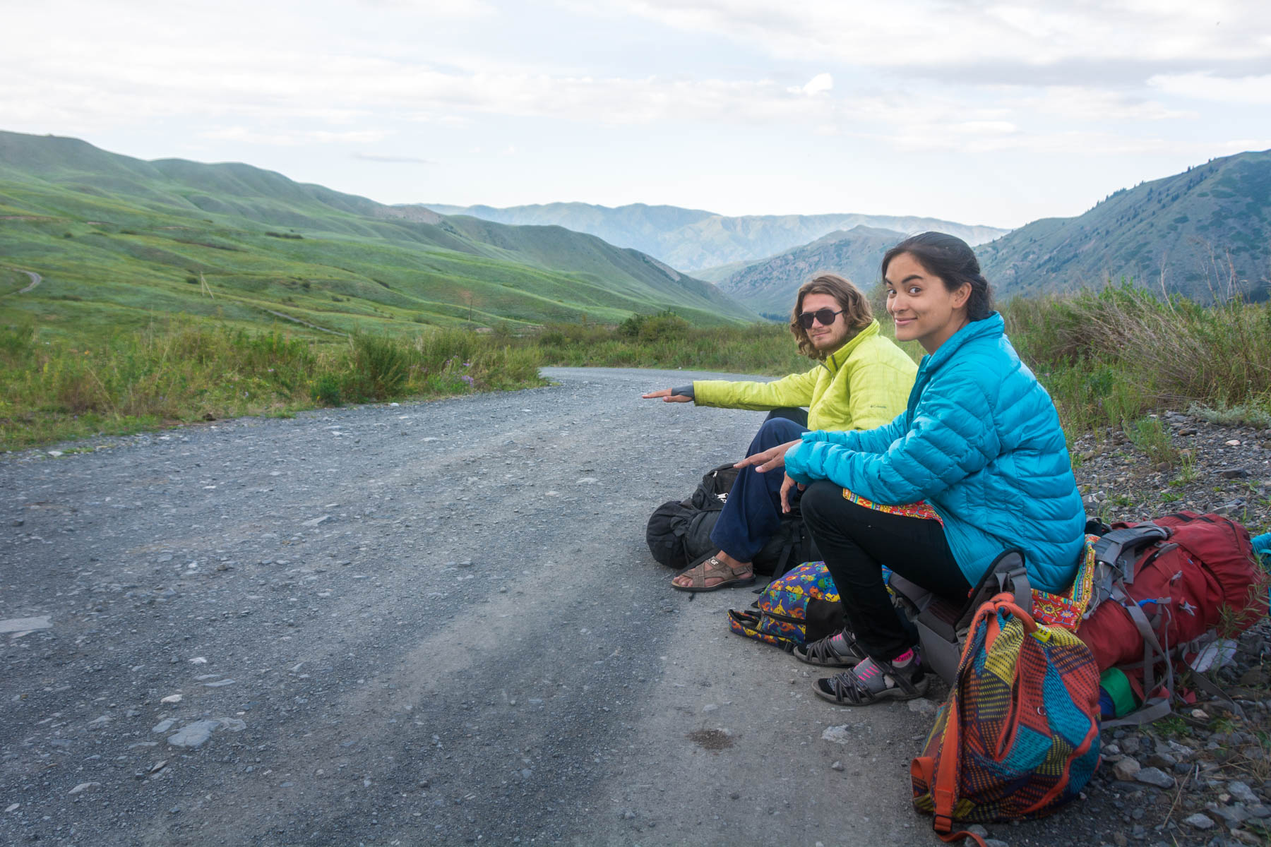 Hitchhiking in Kazakhstan - Lost With Purpose