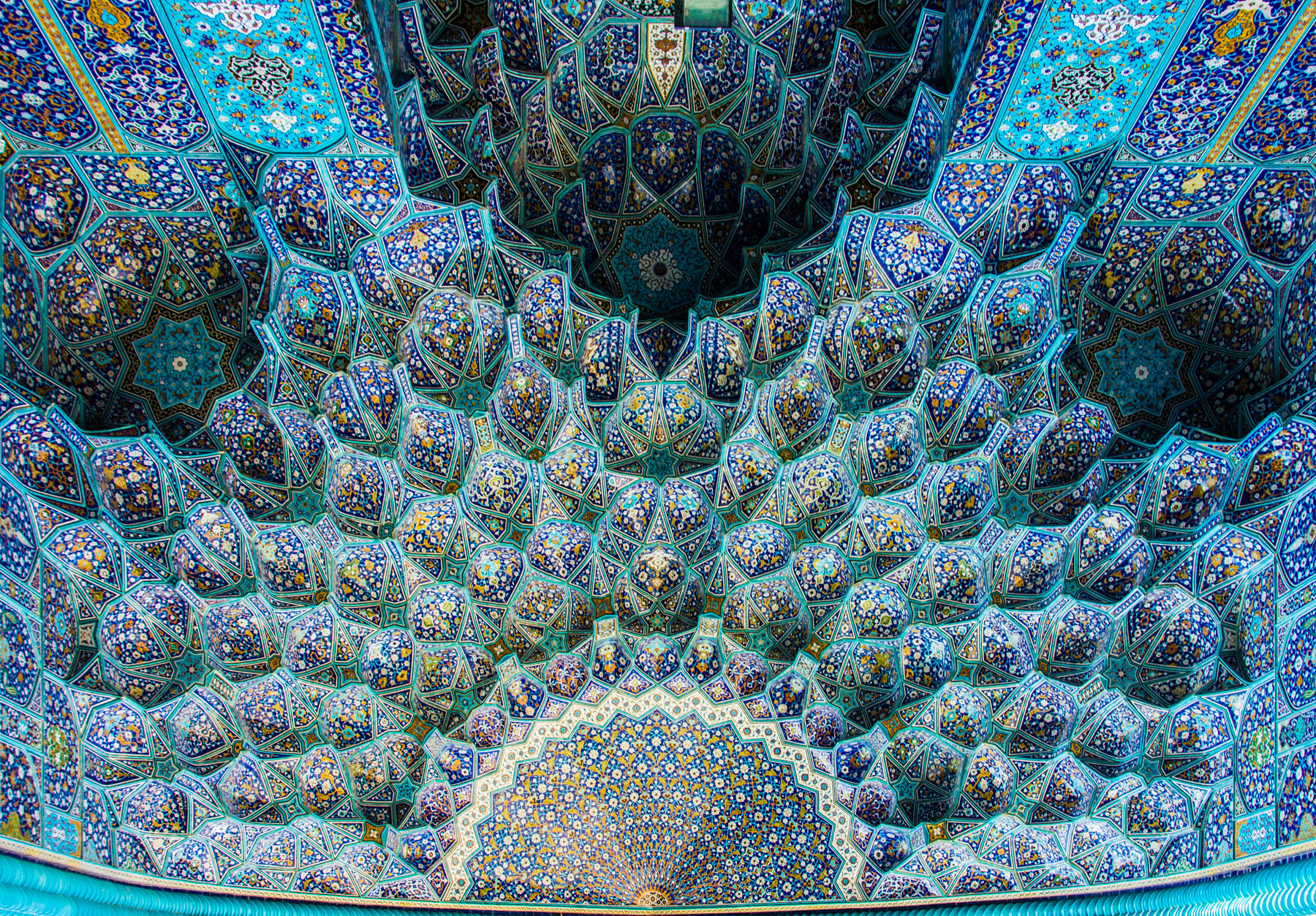 The Shah Jehan mosque entryway in Isfahan, Iran - Lost With Purpose