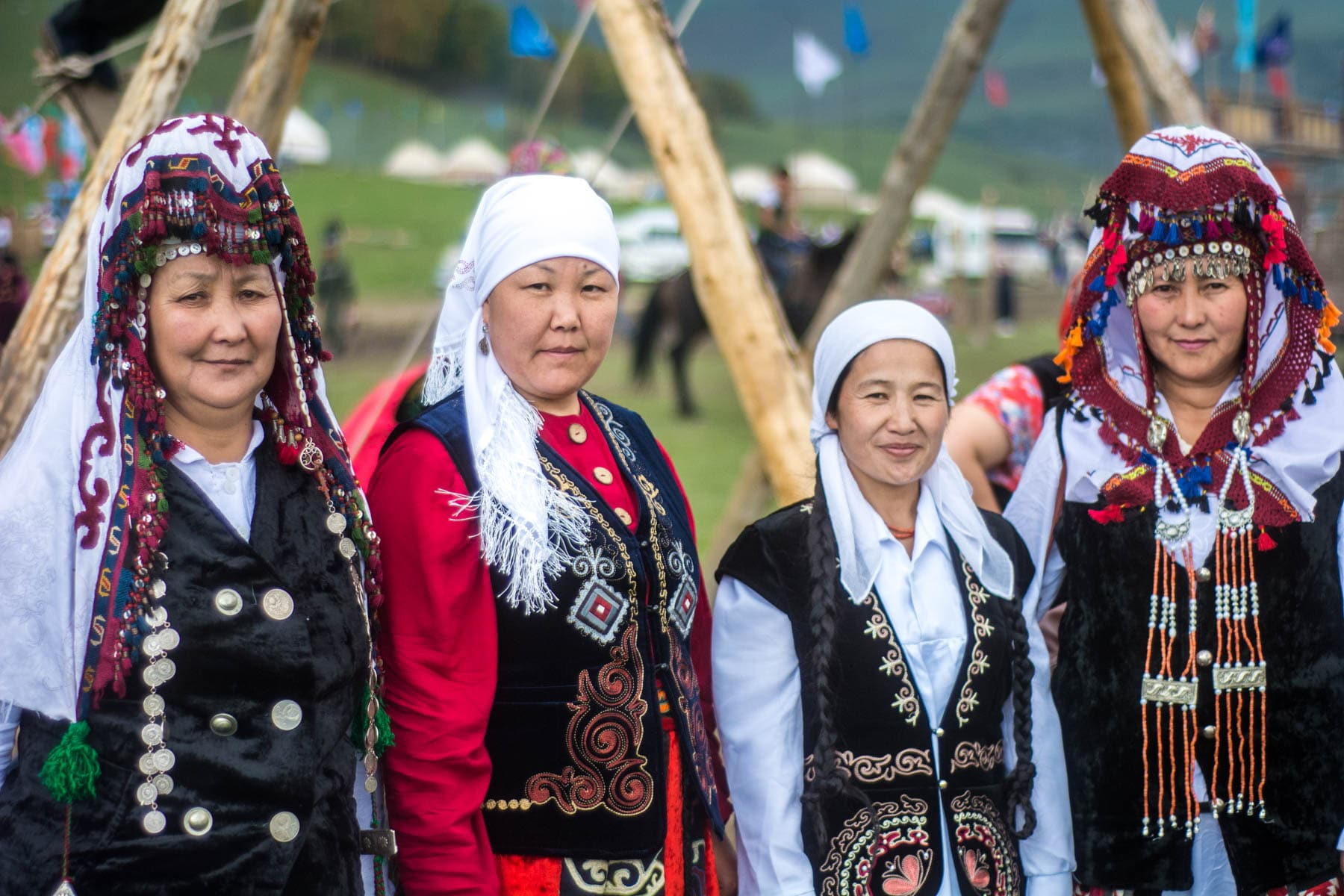 Women in traditional clothes