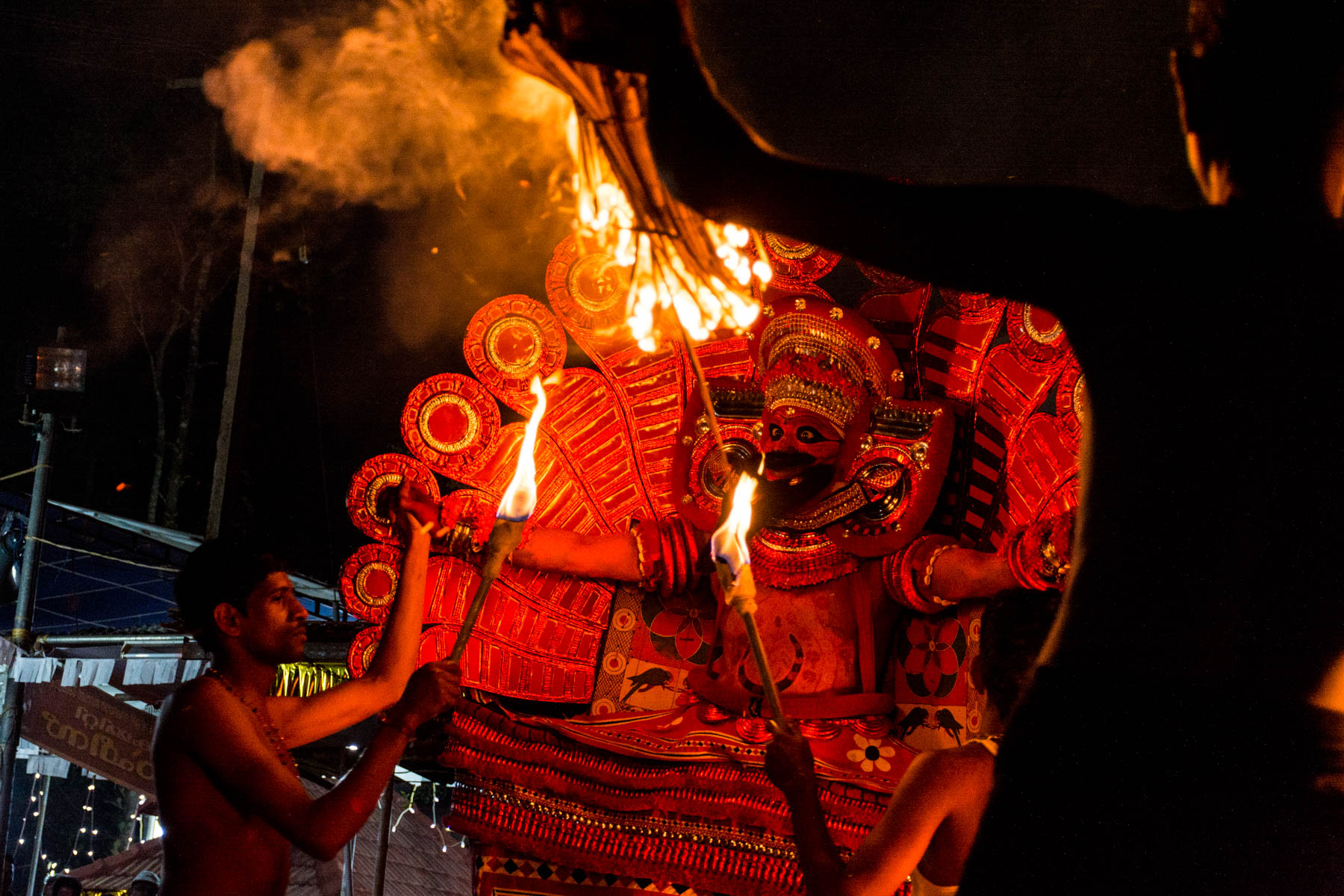 A performance of Kutty Theyyam