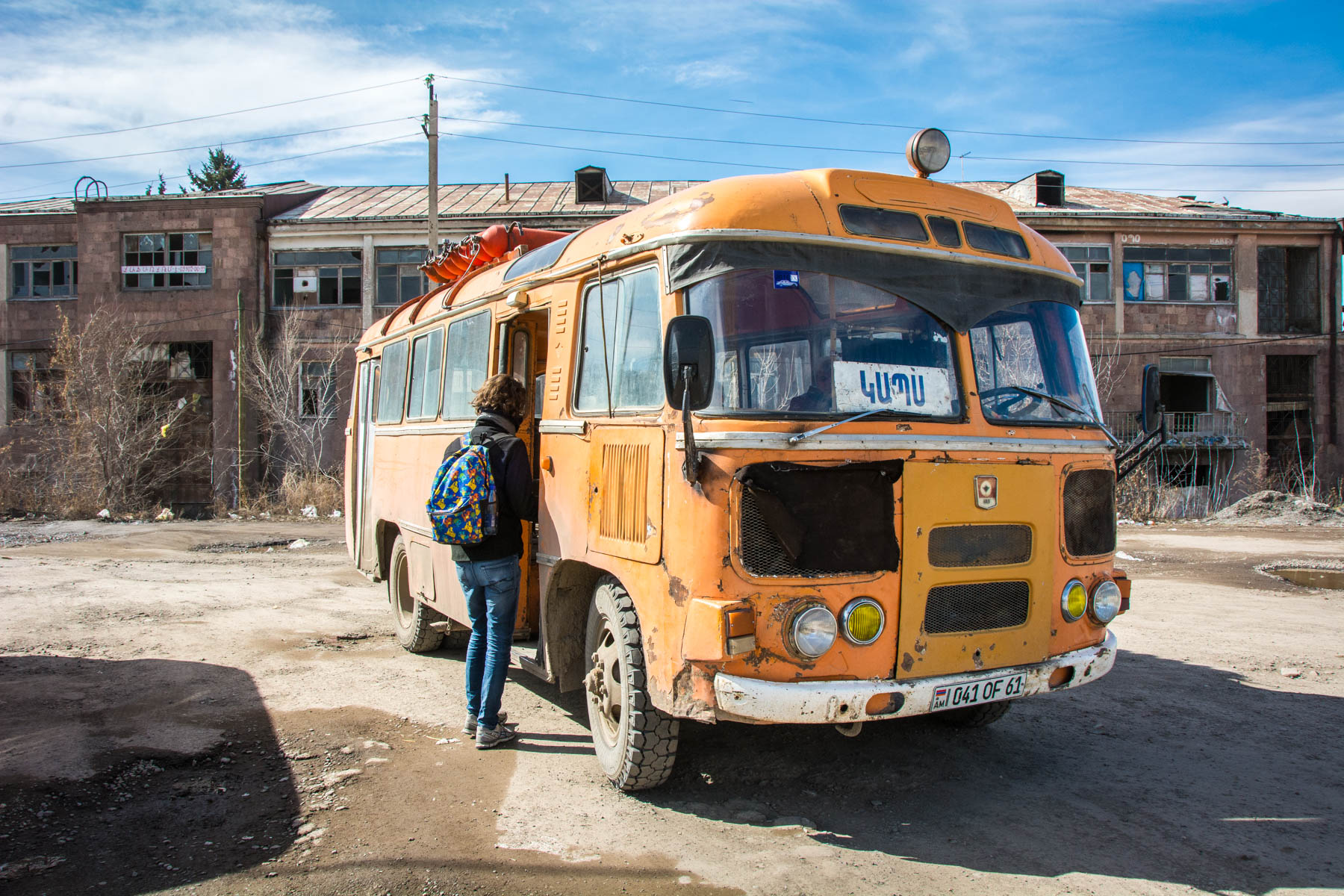 Most adventurous forms of transportation while traveling - Local bus - Lost With Purpose