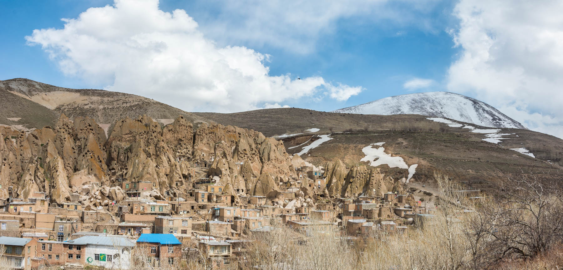 Two week Iran travel itinerary - The cave city of Kandovan, Iran near Tabriz - Lost With Purpose