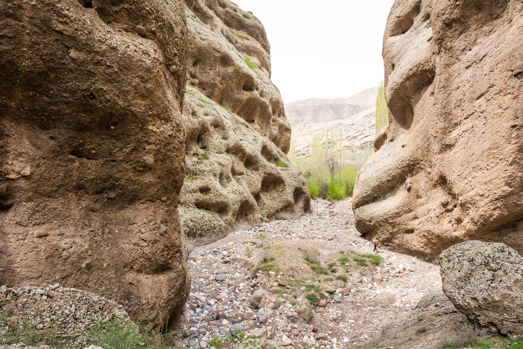 Two week Iran travel Itinerary - Canyons in the Alamut Valley - Lost With Purpose