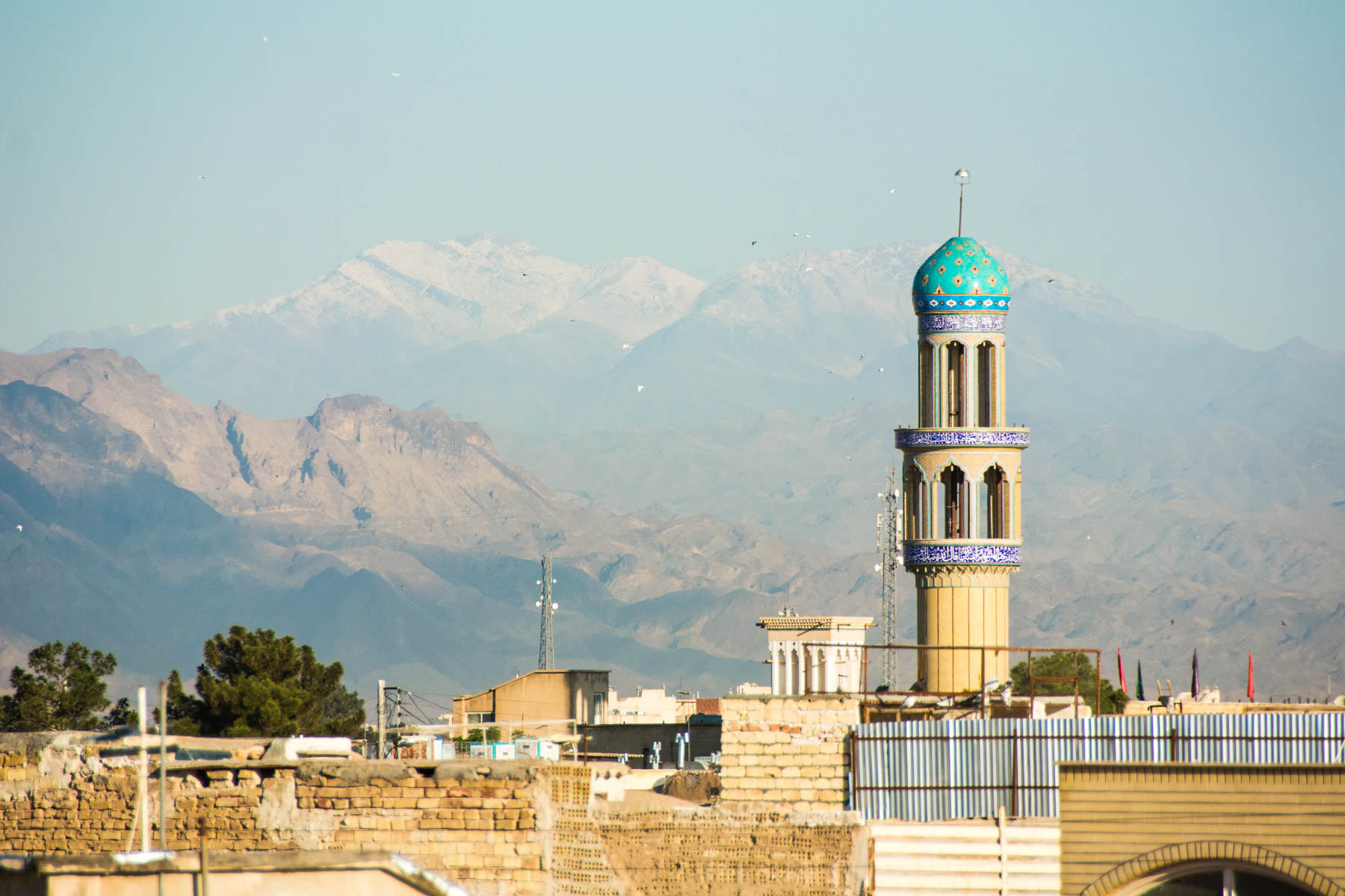 Two week Iran travel itinerary - Skyline of Kashan, Iran - Lost With Purpose
