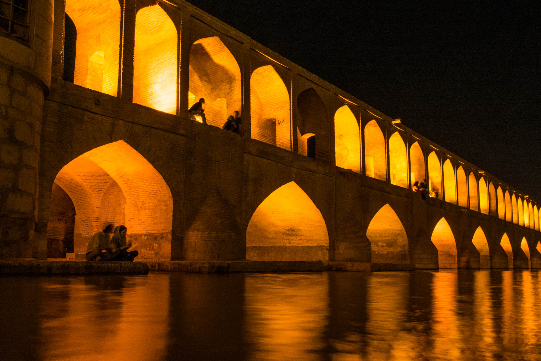 A two week Iran travel itinerary - The Si-o-seh pol bridge in Esfahan, Iran - Lost With Purpose