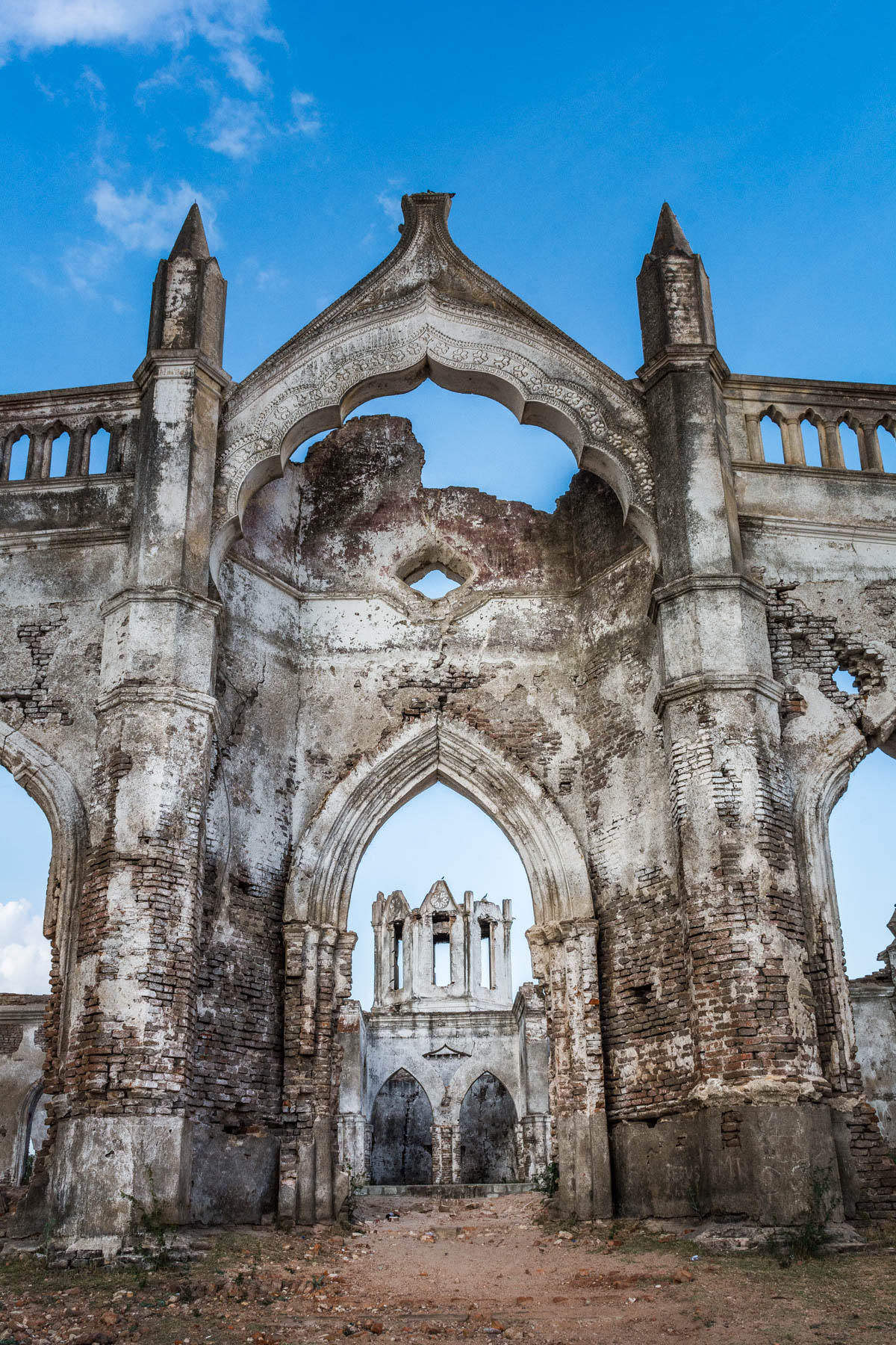 "The ruins of Shettihalli Church in Karnataka, India, also known as the ""floating church"", are a great off the beaten track destination to day trip to. Read on to learn how to get to Shettihalli Church in Karnataka, India."