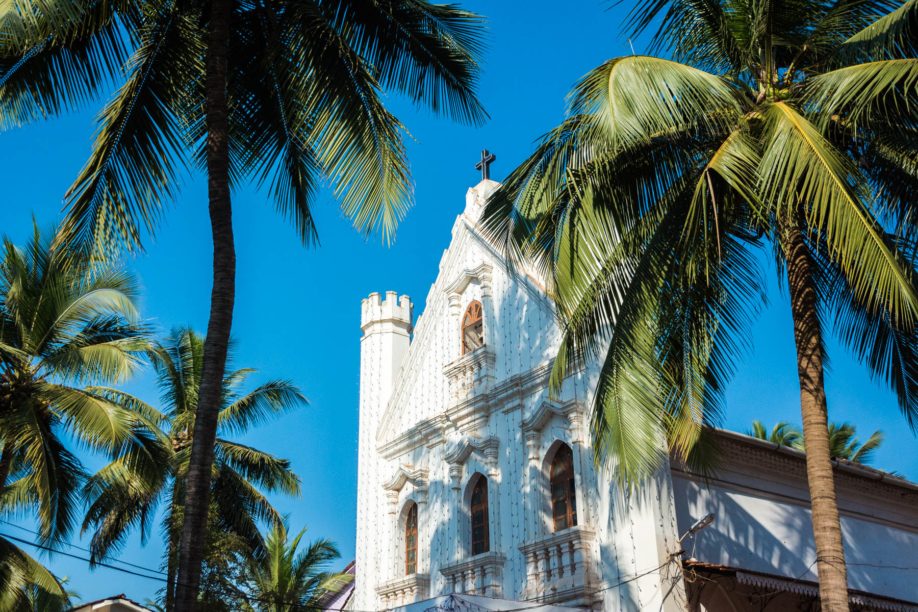 Guide to Christmas in Baga and Calangute in Goa, India - Our Lady of Piety church in Calangute - Lost With Purpose