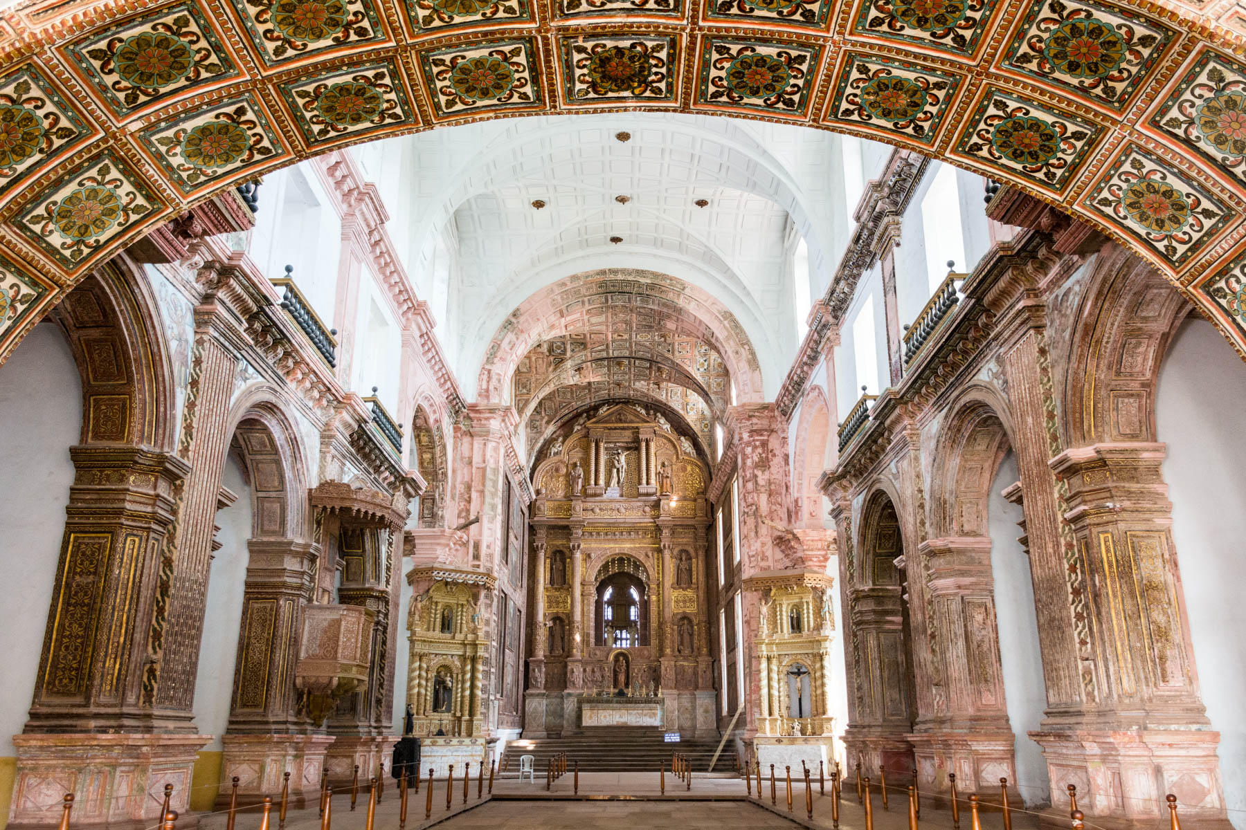 Guide to Christmas in Baga and Calangute in Goa, India - Church of St. Francis of Assisi in Old Goa - Lost With Purpose