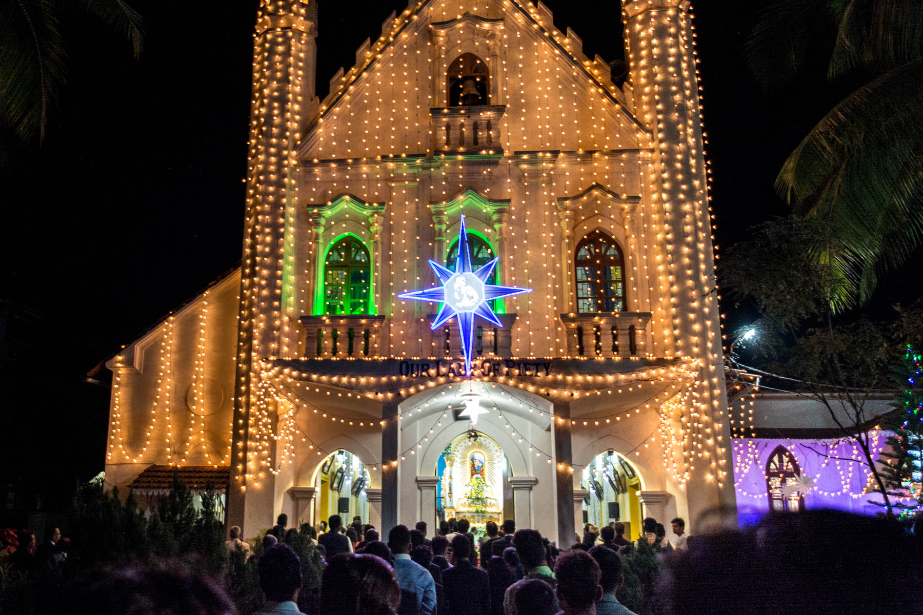 Our Lady of Piety church in Calangute