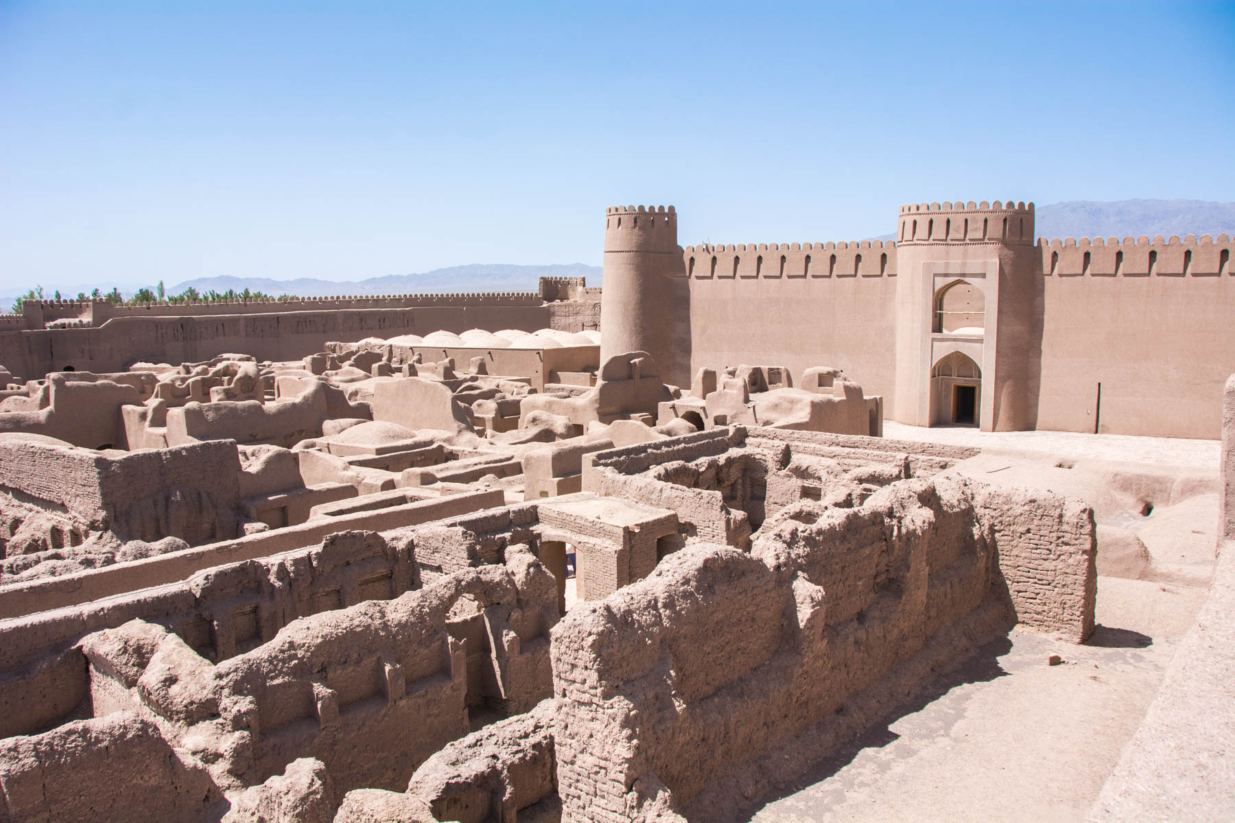 Two week Iran travel itinerary - Rayen citadel near Kerman, Iran - Lost With Purpose