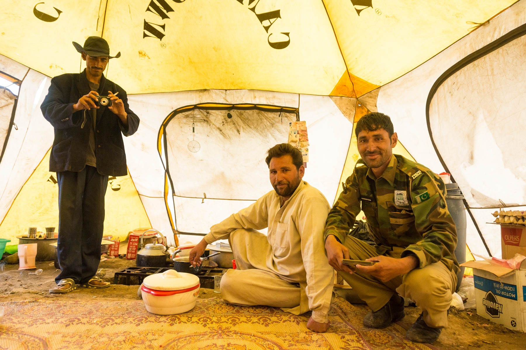 Is it safe for women to travel in Pakistan? - Super friendly male park rangers in Deosai, Pakistan - Lost With Purpose