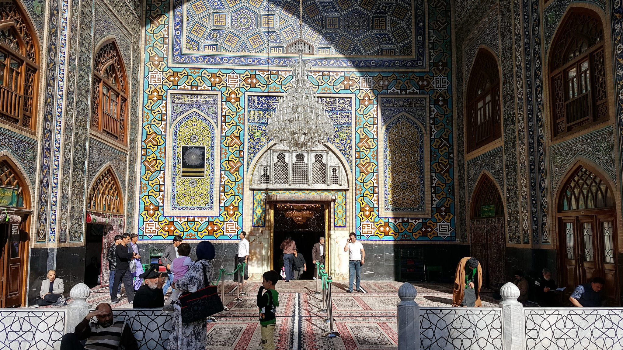 Two week Iran travel itinerary - Shrine of Imam Reza in Mashhad, Iran