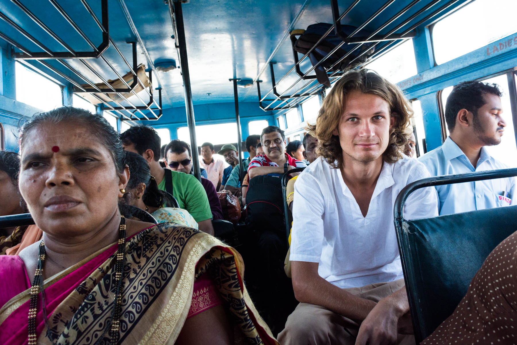 Riding a government bus in Goa, India - Lost With Purpose