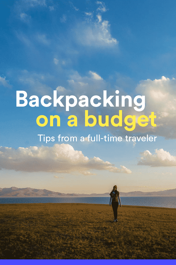 Traveling the world doesn't have to be expensive. I traveled for one year for less than $10,000. Here's how I did it in Eurasia, plus my tips on backpacking on a budget.