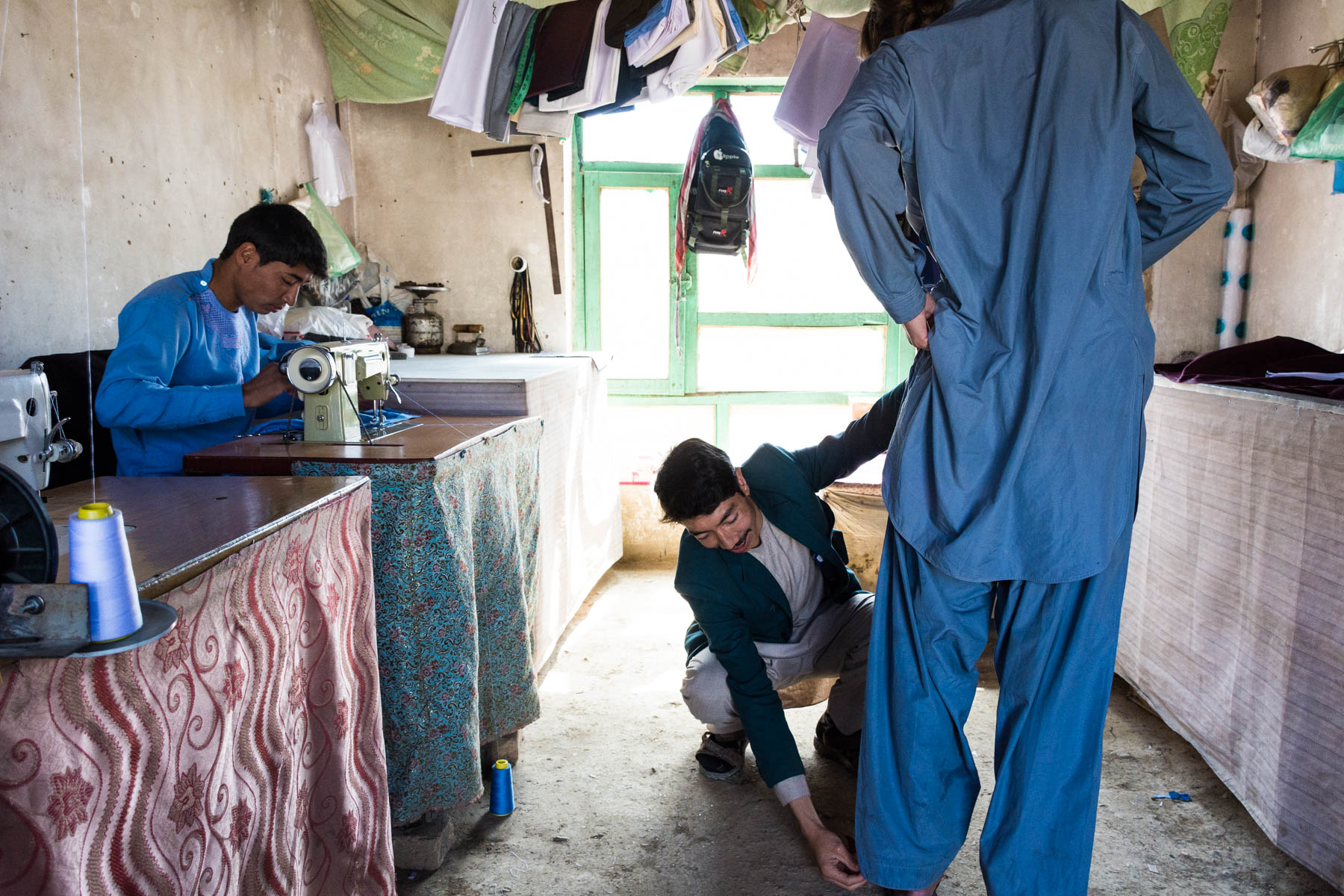 How much does one year of travel in Asia cost? - Getting new clothes in Bamiyan, Afghanistan - Lost With Purpose