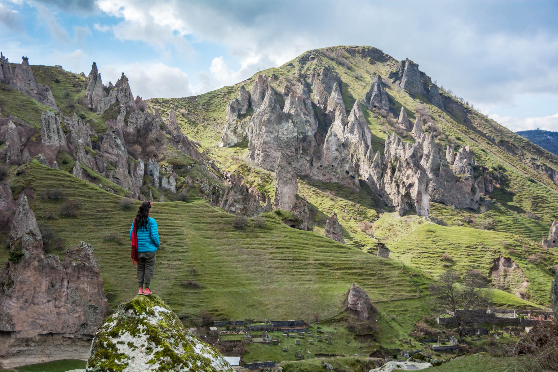 How much did one year of travel in Asia cost? - Spires of Goris, Armenia - Lost With Purpose