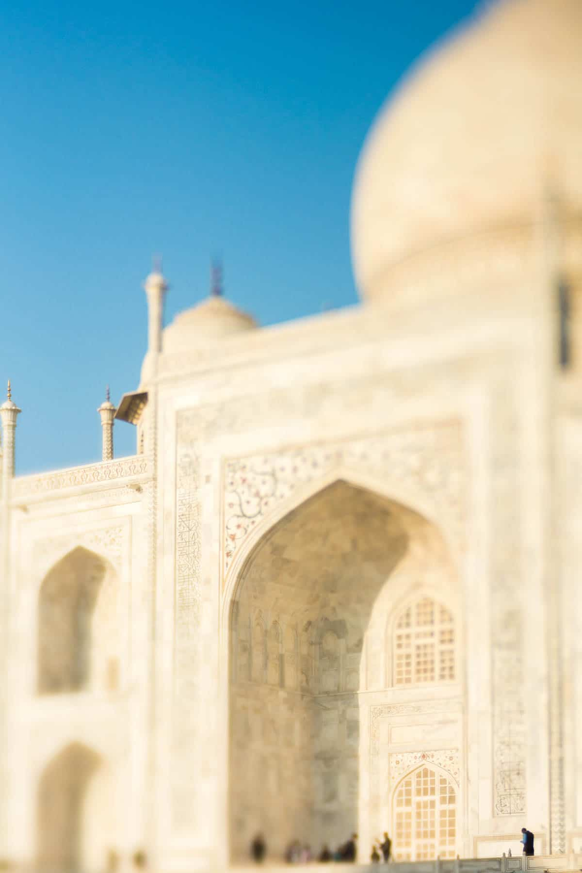 Lensbaby Edge 50 Optic review - The Taj Mahal in Agra, India via the Lensbaby Edge 50 Optic - Lost With Purpose