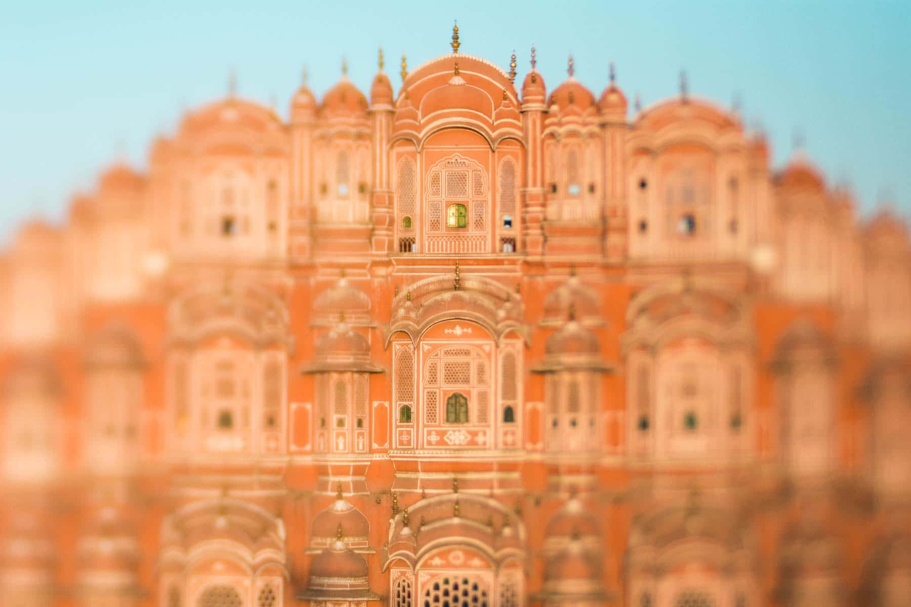 Lensbaby Edge 50 optic review - The Hawa Mahal in Jaipur, Rajasthan, India - Lost With Purpose