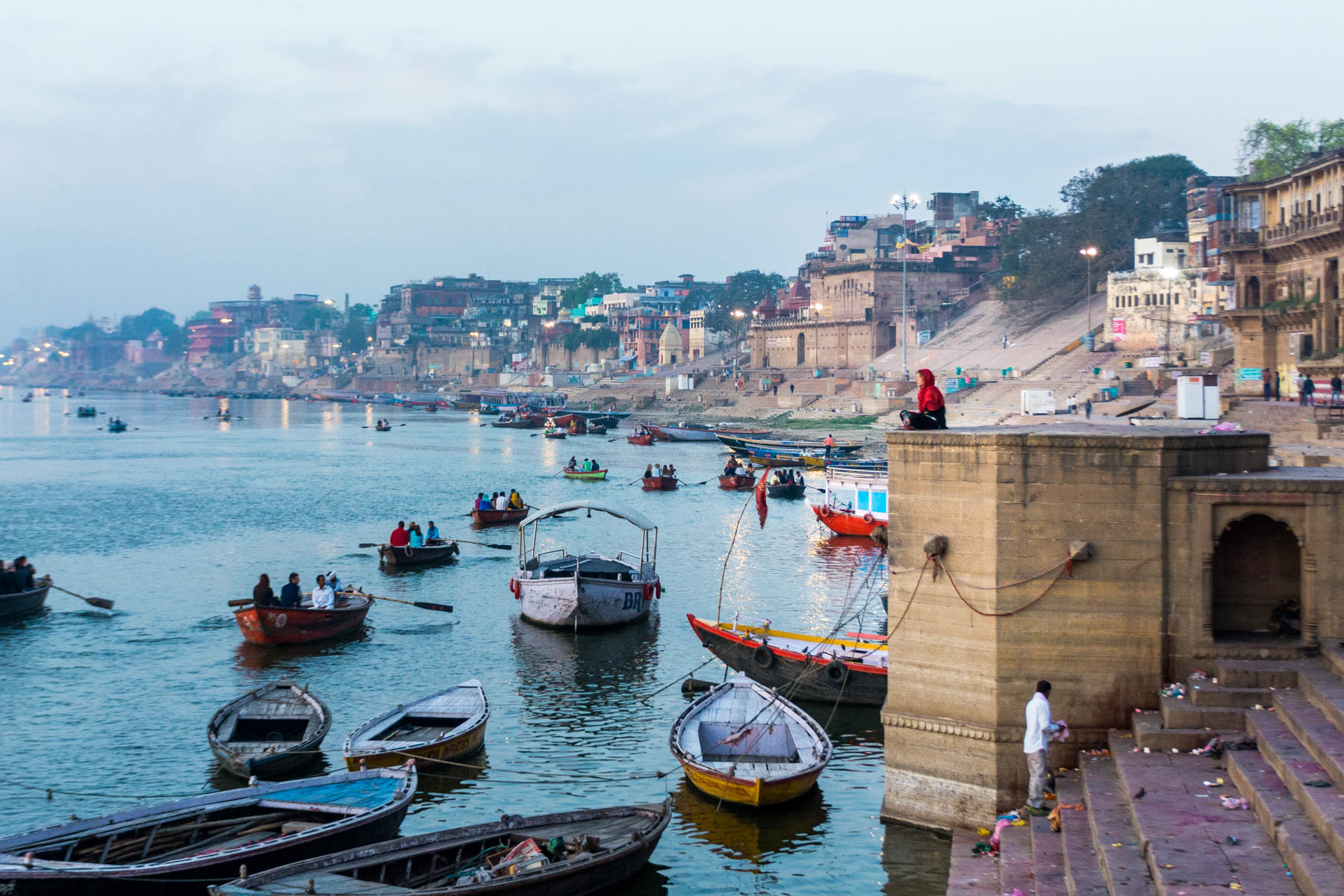 Where to find bhang lassi in Varanasi - Peace on the Varanasi ghats - Lost With Purpose