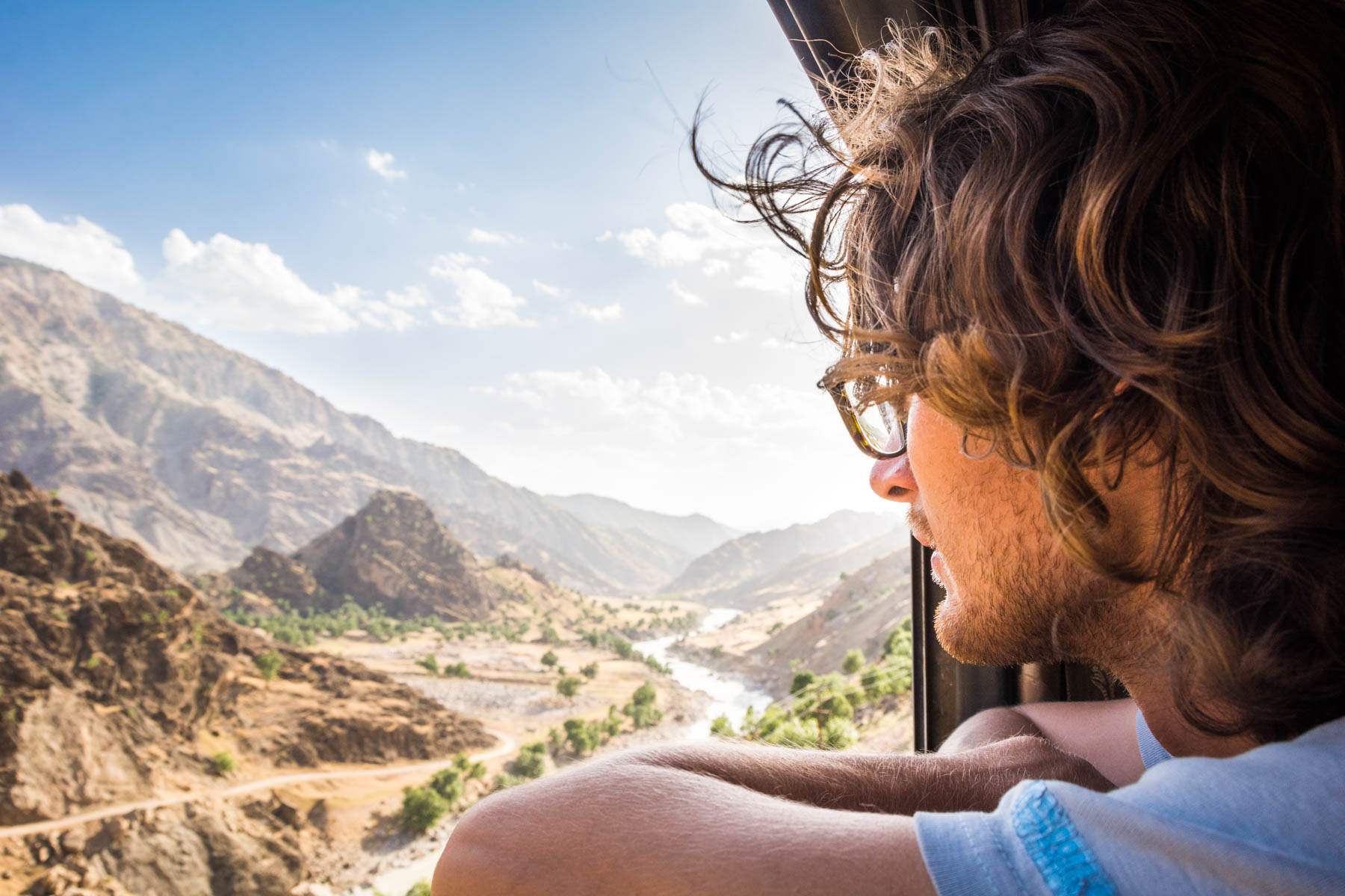 How much did one year of travel in Asia cost? - Dorud Andimeshk train in Iran - Lost With Purpose
