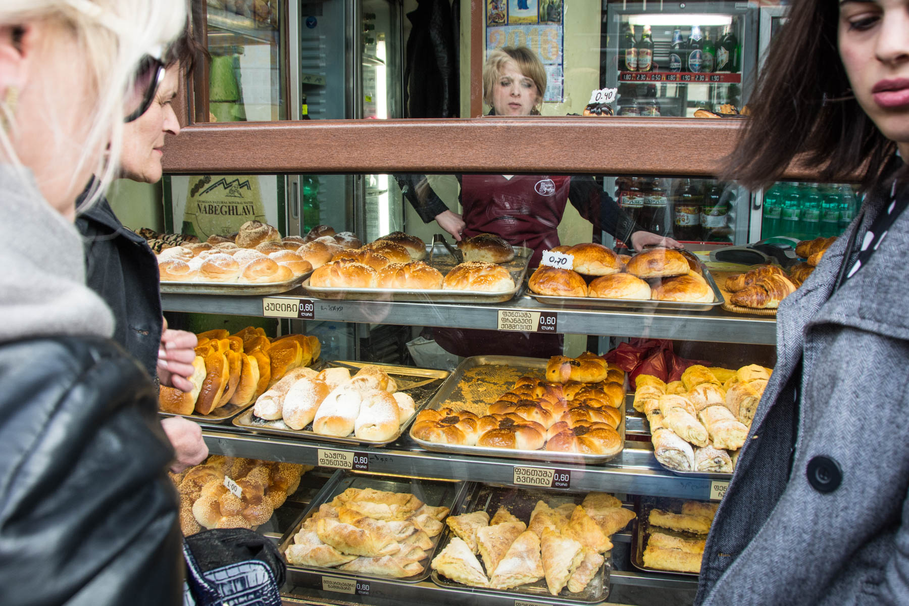 How much does a year of travel in Asia cost? - Cheap pastries in Tbilisi, Georgia - Lost With Purpose