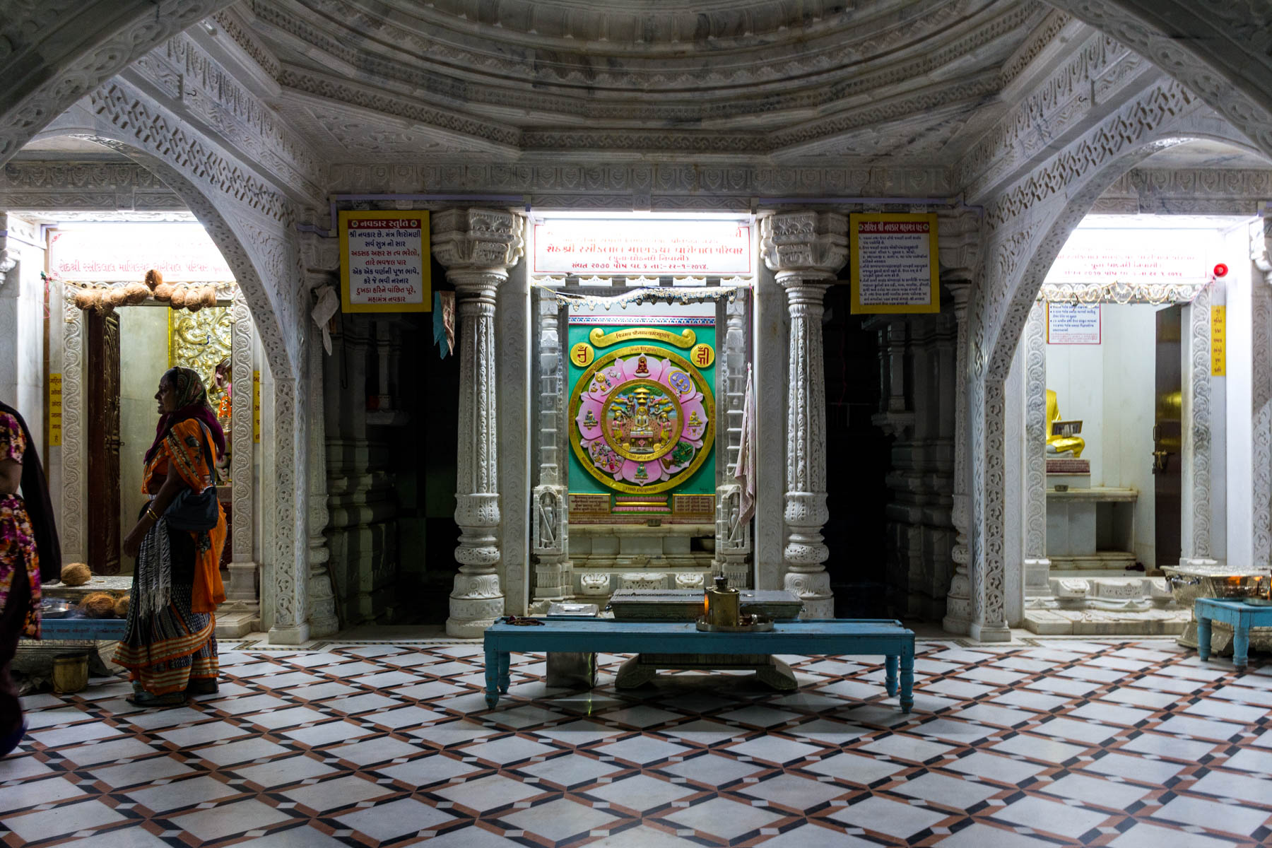 Jain pilgrimage in Palitana, India - A temple at the base of the mountain in Palitana - Lost With Purpose