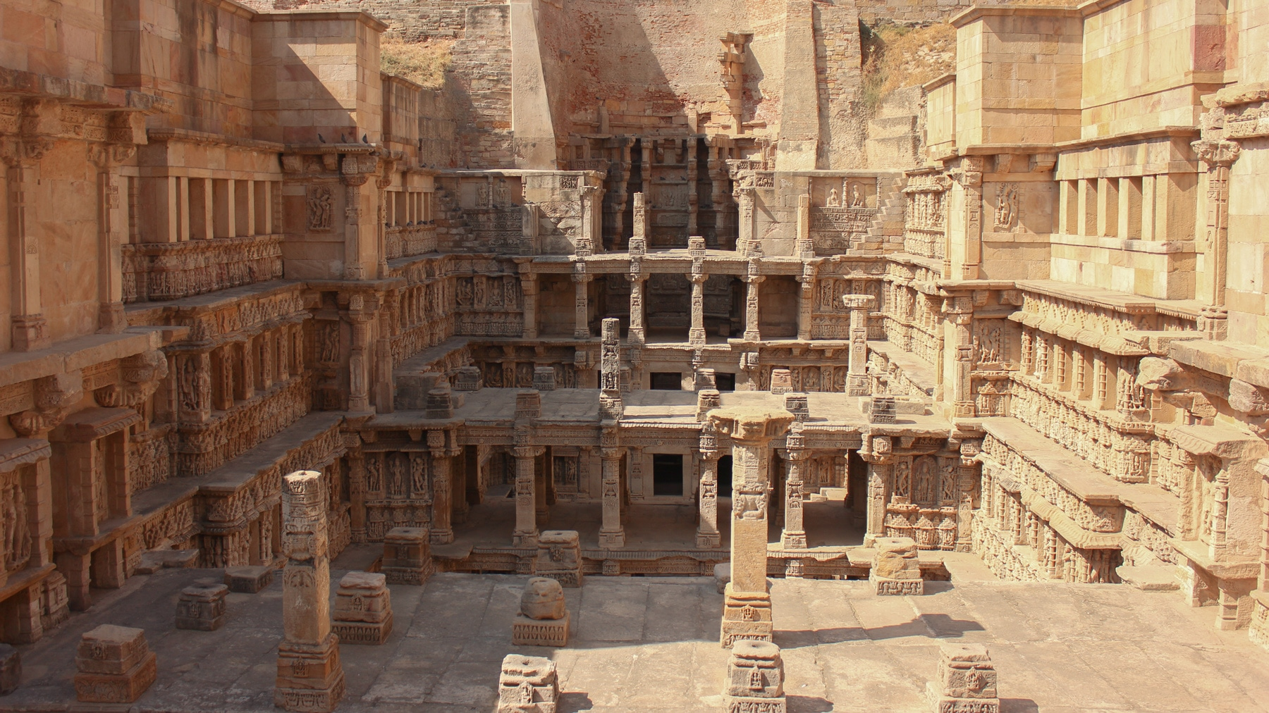 History of Patan Patola - the ancient Rani Ki Vav step well outside of Patan, Gujarat, India - Lost With Purpose