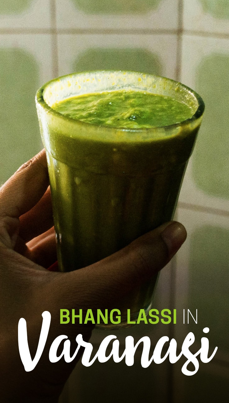 Bhang lassi is famous throughout India. It's a legal marijuana-infused drink sold in a variety of places throughout the country, and Varanasi is one such place. Here's everything you need to know about drinking bhang lassi in Varanasi, India: where to find it, how much it costs, what to expect, and how to stay safe... and sane ;)