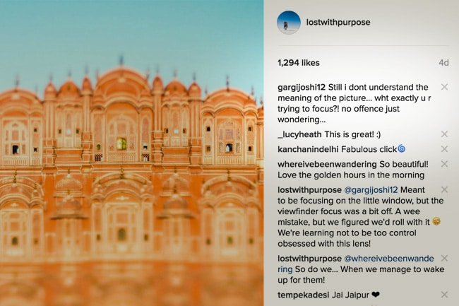 Lensbaby Edge 50 Optic review - Called out on Instagram for my focus fail - Lost With Purpose
