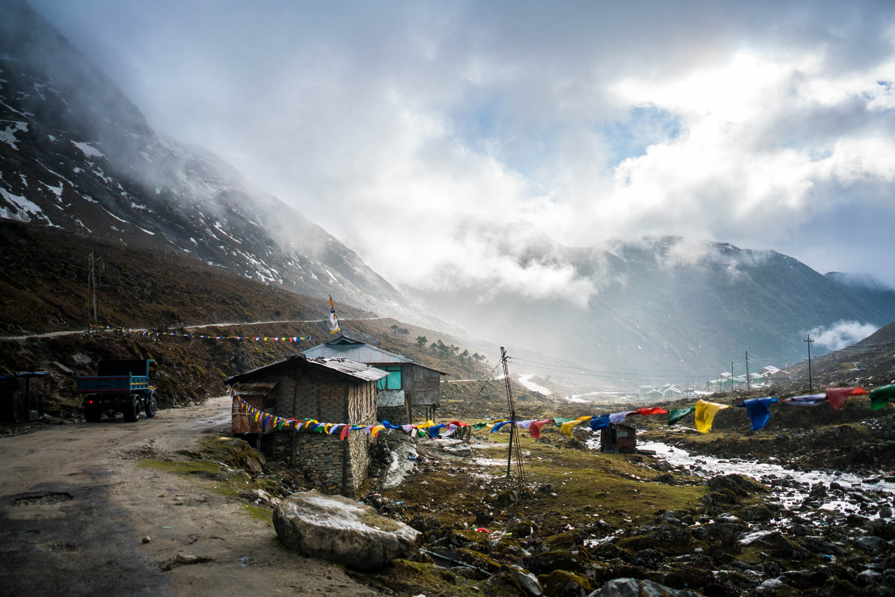 Backpacking Arunachal Pradesh travel guide - A stopover after Sela Pass on the road to Tawang - Lost With Purpose