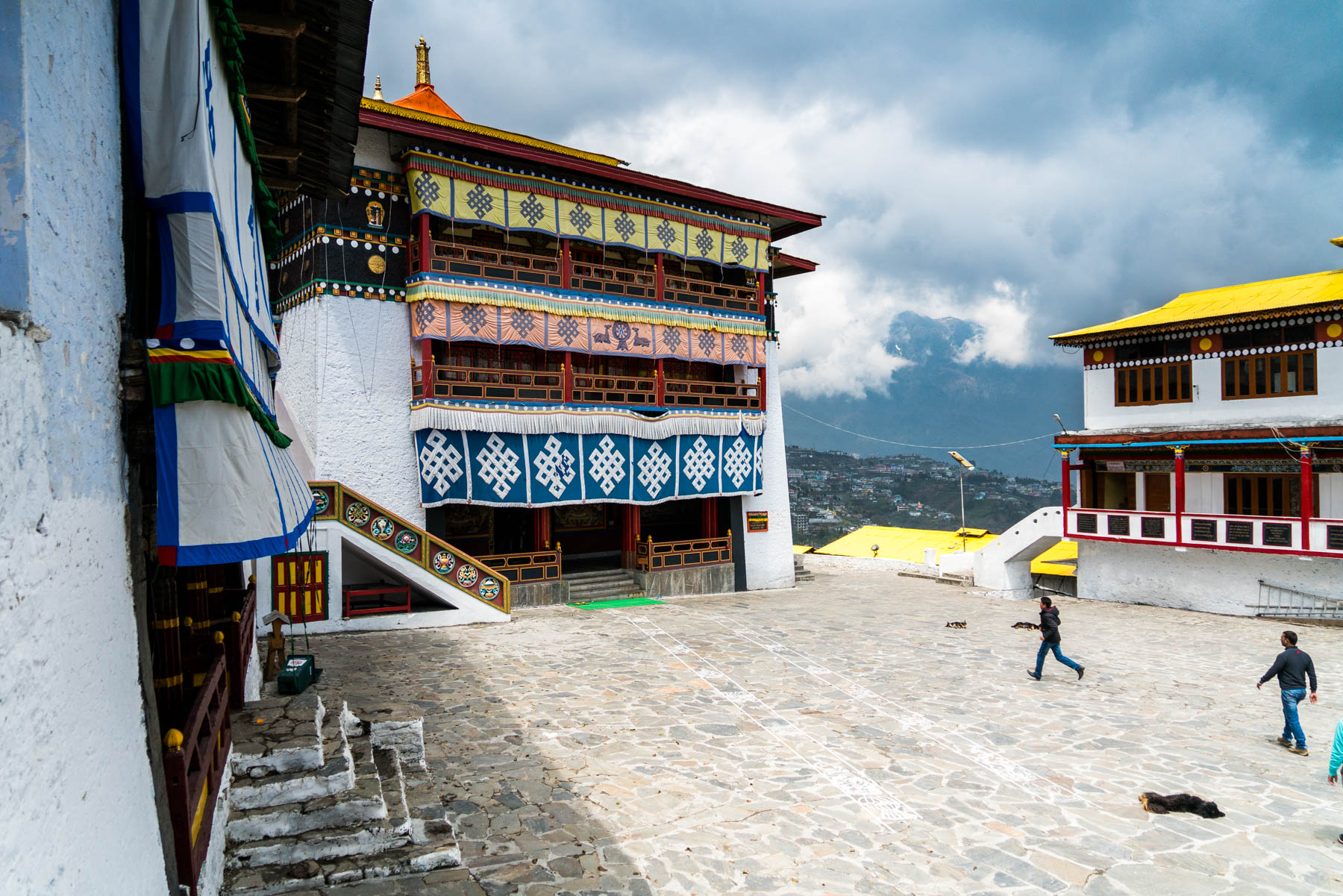 Travel guide to backpacking on a budget in Arunachal Pradesh, India - Tourists in Tawang - Lost With Purpose