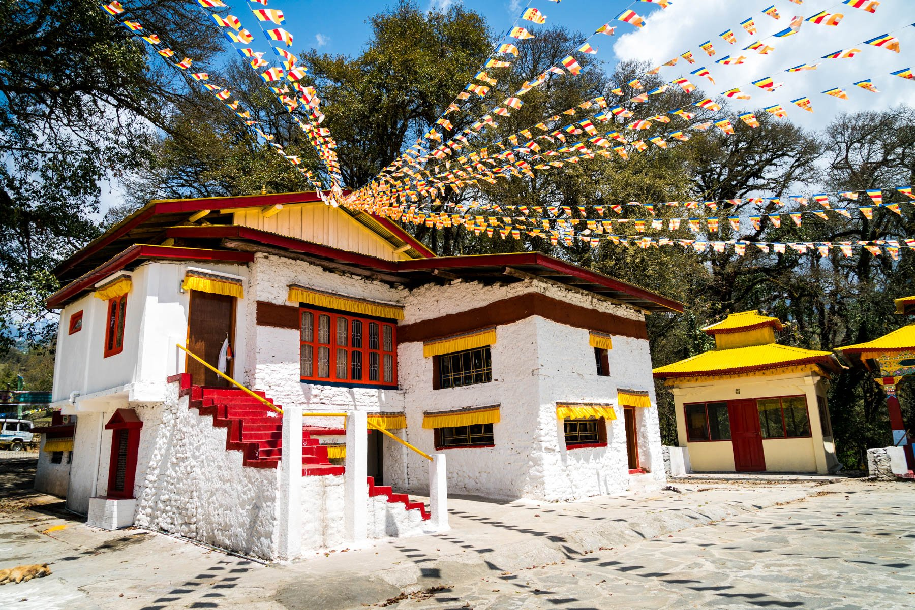Backpacking Arunachal Pradesh travel guide - Urgelling Gompa monastery in Tawang, birthplace of the 6th Dalai Lama - Lost With Purpose