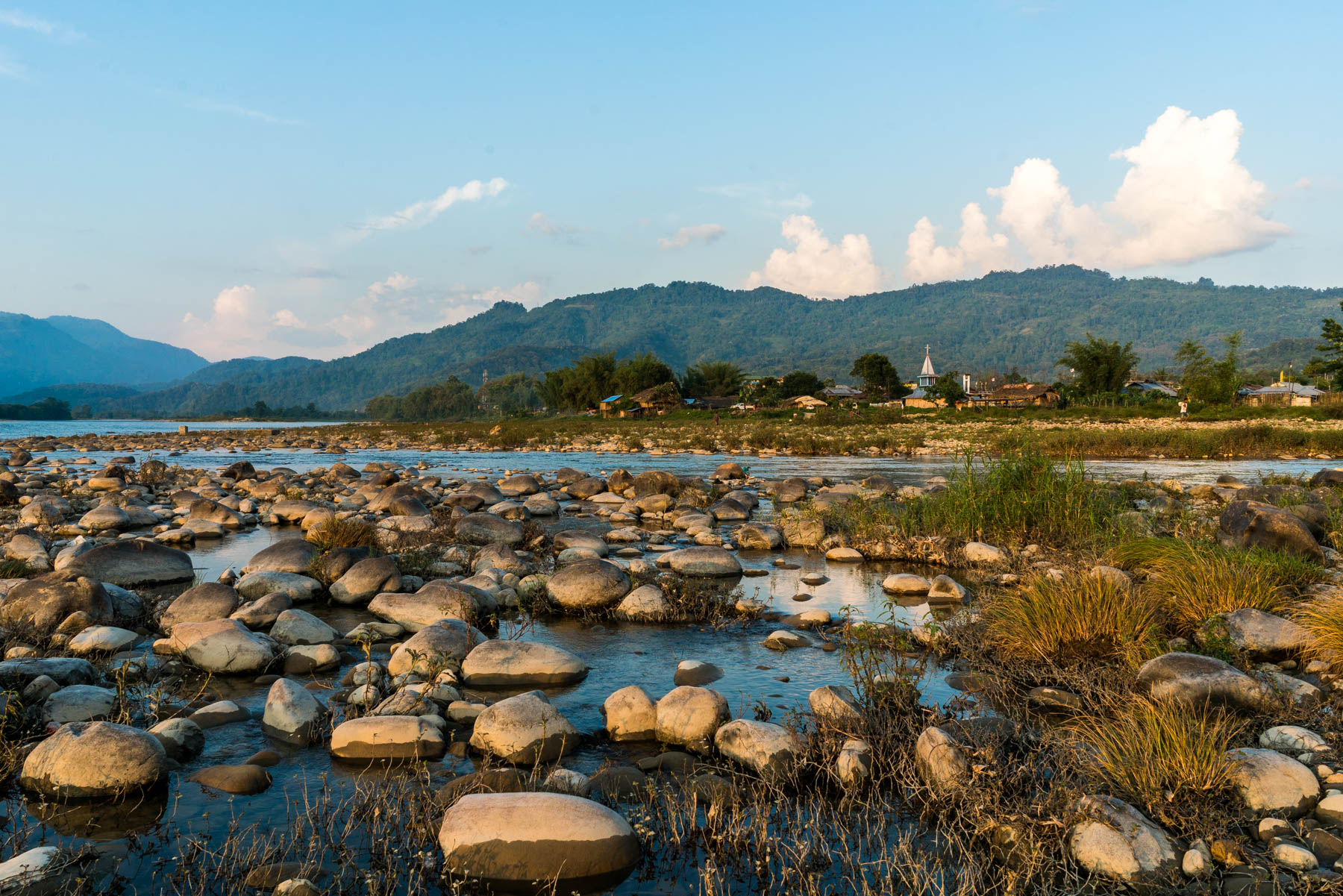 Backpacker guide to Arunachal Pradesh, India - The Siyom riverside near Along town - Lost With Purpose