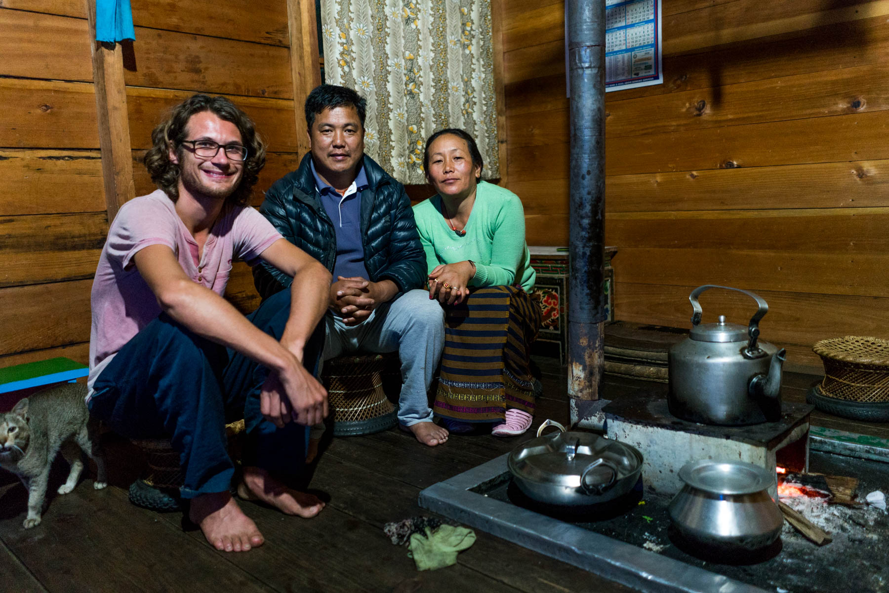 Backpacking in Arunachal Pradesh travel guide - Homestay hosts in Mechuka - Lost With Purpose