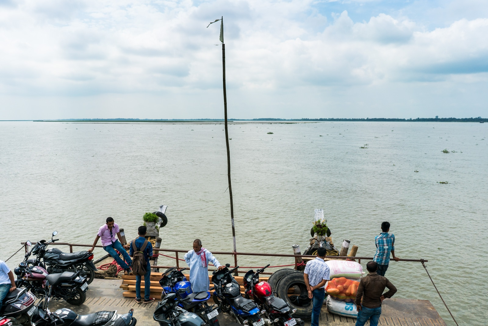 How to get from Sivsagar to Jorhat to Majuli island in Assam, India - Ferry across the Brahmaputra - Lost With Purpose