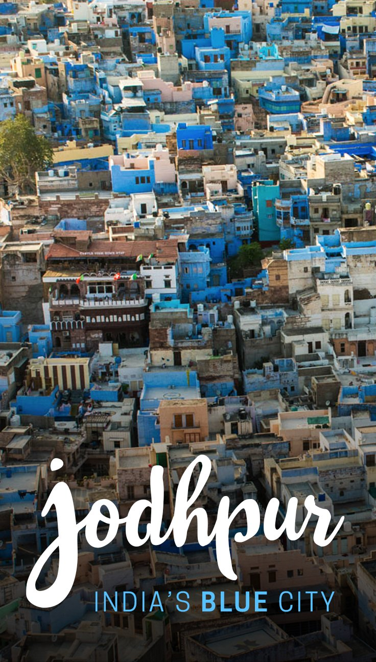 "Jodphur, Rajasthan is widely known as India's blue city. Its streets are filled with ""Brahmin blue"" houses, and despite its place on India's Rajasthan tourist trail, the people were incredibly warm and open to visitors. Read on for more stunning photos of the vibrant city."