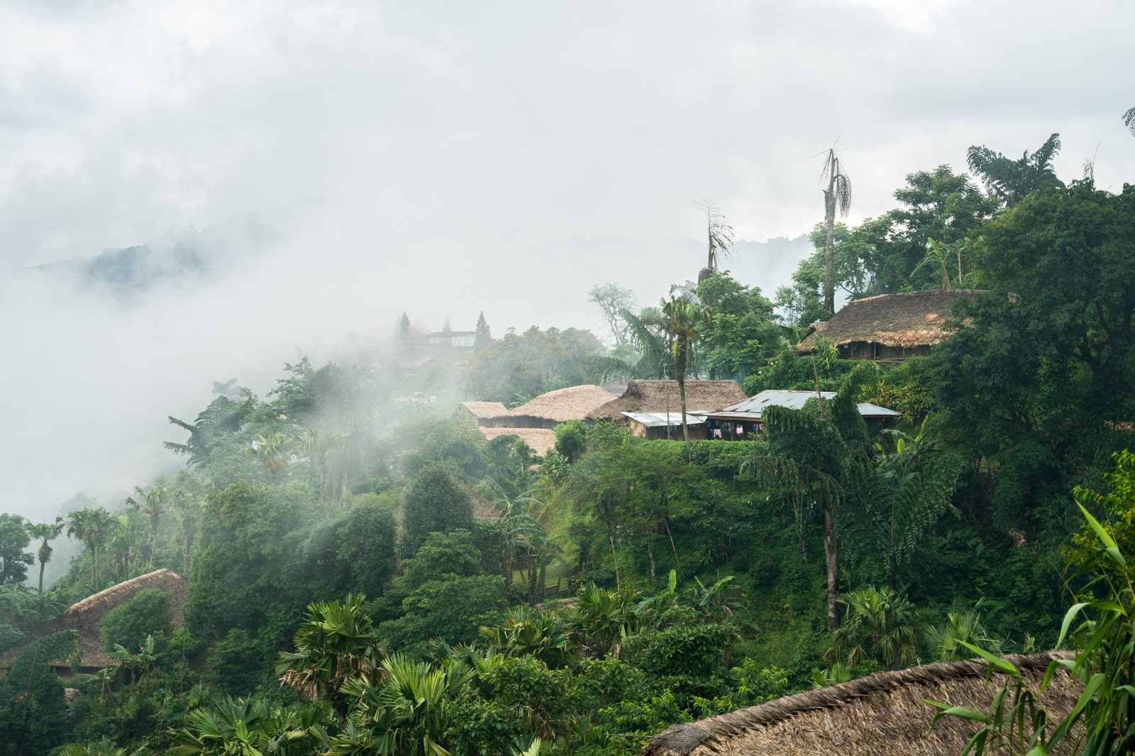 Opium and Jesus and headhunting in Longwa Village, Nagaland, India - Longwa lost in the clouds - Lost With Purpose